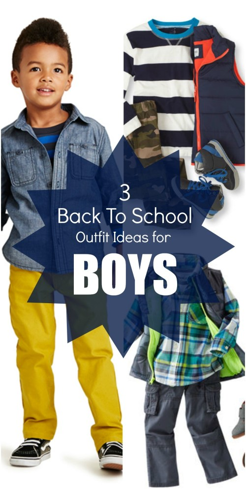Back to School Boys Outfit Ideas and Styles