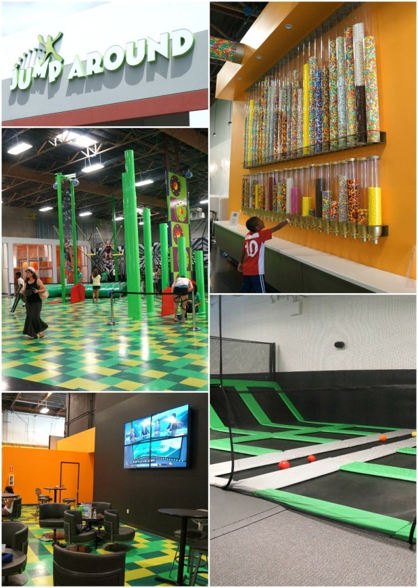 Jump Around Now Trampoline and Adventure Park, San Diego, CA