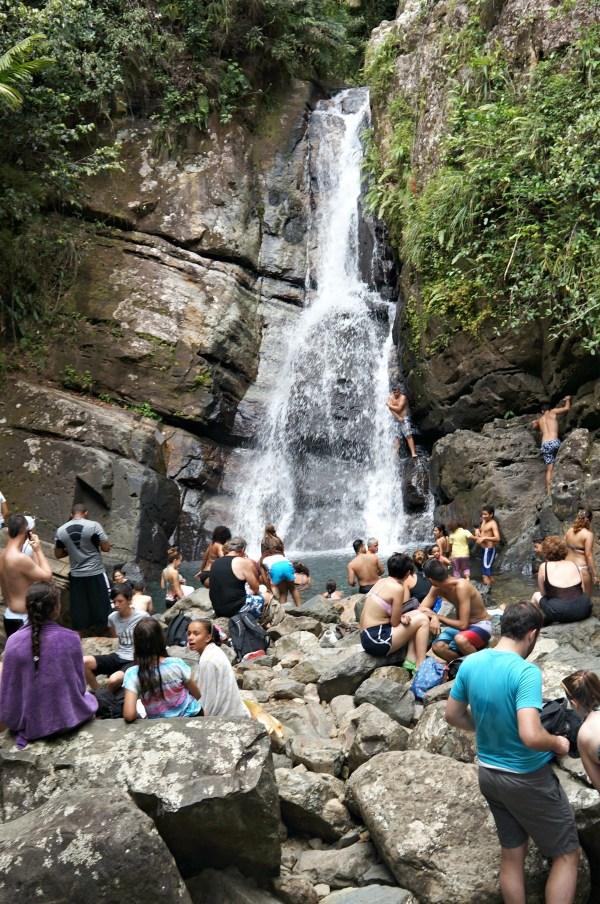 La Mina Falls, El Yunque Forest, Puerto Rico