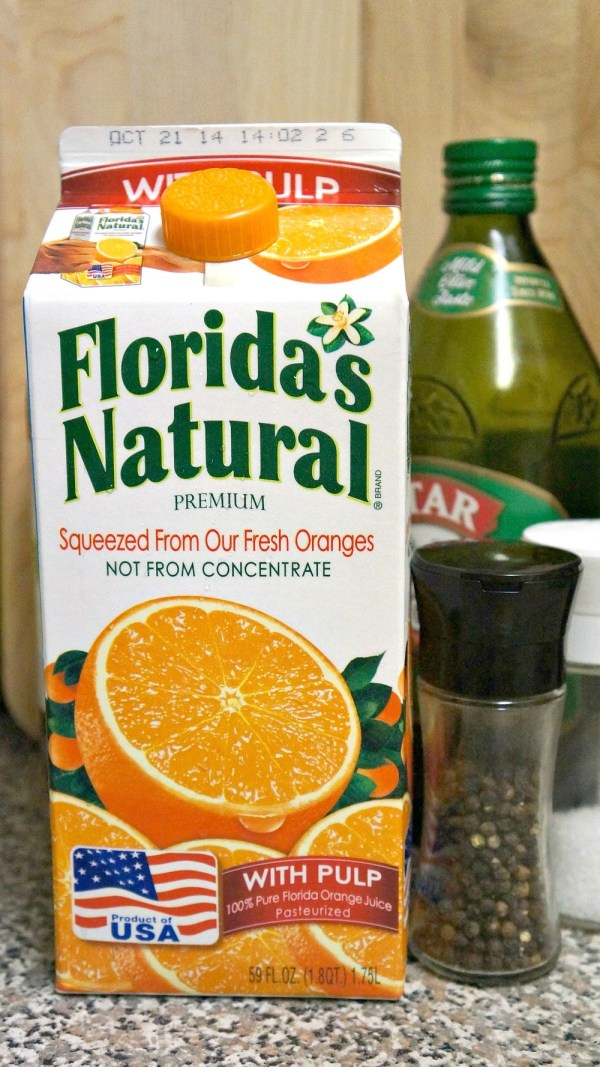 Make citrus salad dressing with Florida Orange juice
