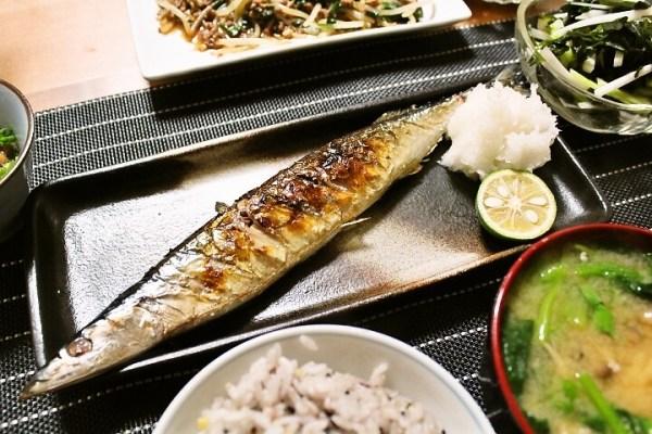 Baked sanma fish, Tsunagu Japan