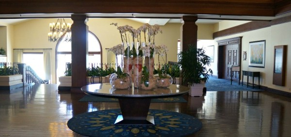Beautiful floral arrangement in the lobby, Omni La Costa Resort