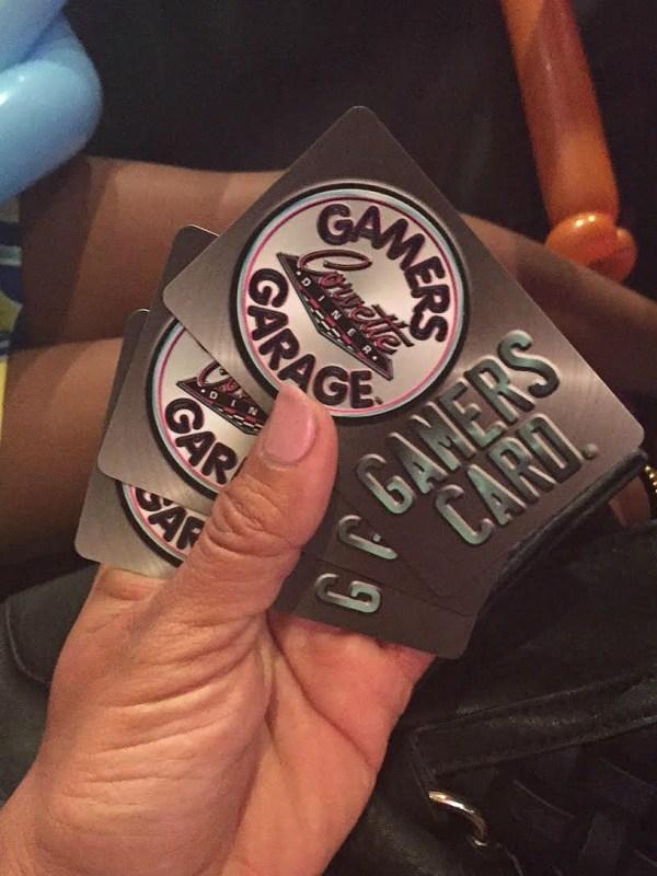 Corvette Diner Gamers Garage Arcade cards