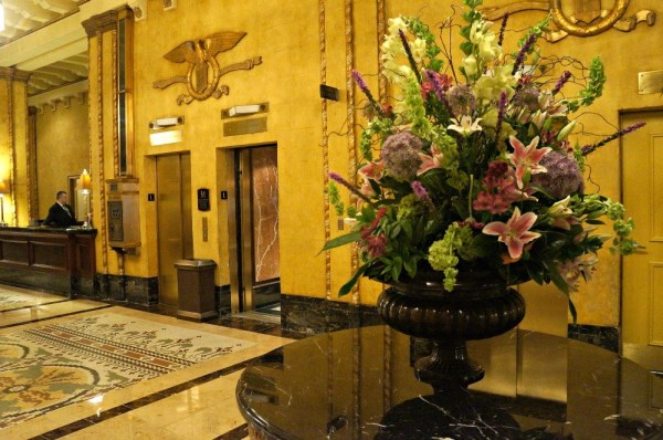 The Roosevelt Hotel, New Orleans, lobby area
