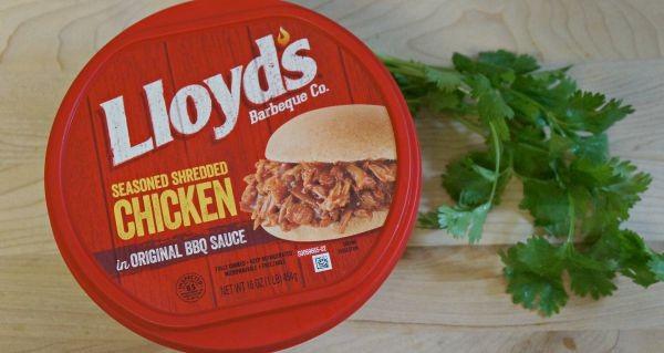 LLOYD'S® Seasoned Shredded Chicken Barbecue Tub