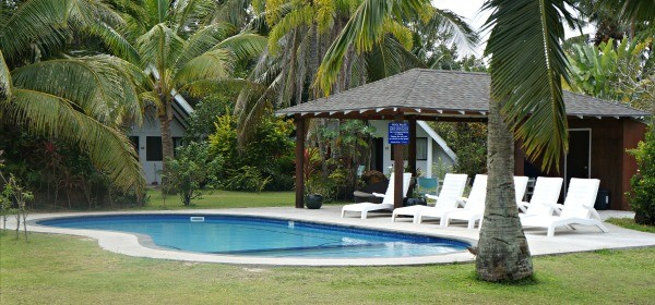 Palm Grove Resort, Rarotonga, Cook Islands, freshwater swimming pool