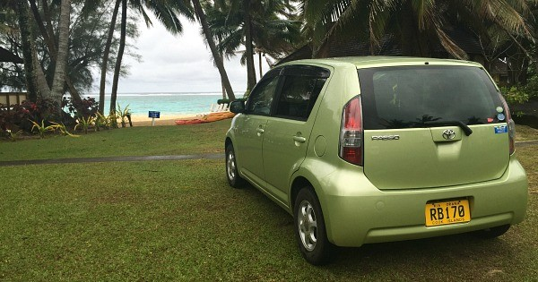 Rarotonga Cook Islands Trip, Rental Car from Island Car and Bike Hire