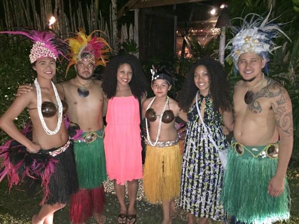 Rarotonga Cook Islands trip, Highland Paradise cultural show dancers