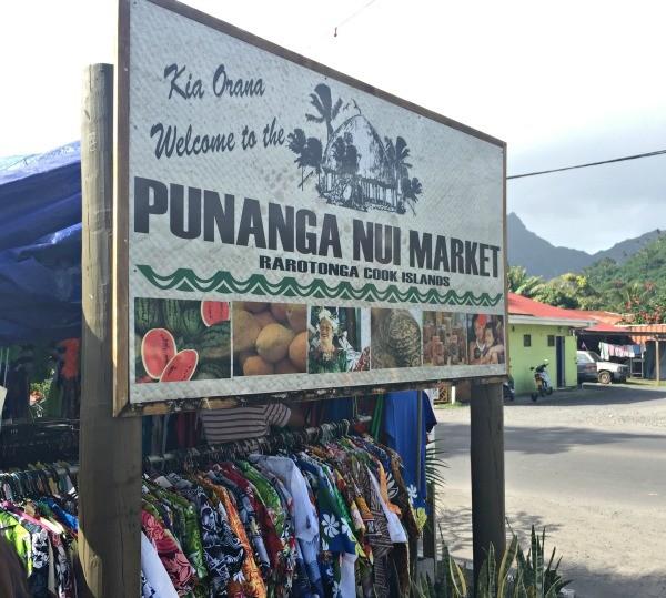 Rarotonga Cook Islands trip, Punanga Nui Saturday Market in Avarua town