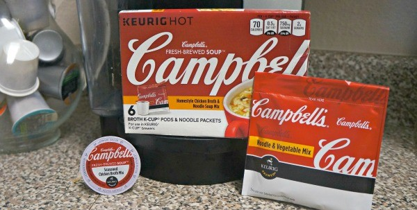 Campbell's® Fresh-Brewed Soup® made for Keurig