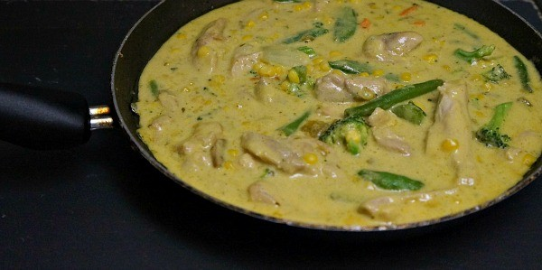 Thai Curry Chicken Skillet