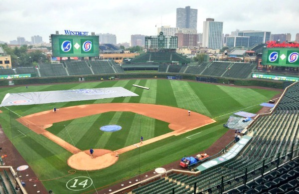 Chicago Cubs Baseball at Wrigley Field