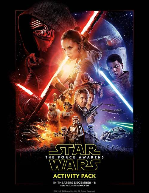 Star Wars The Force Awakens Activity Pack