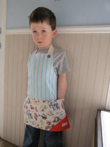 Carolie child's apron