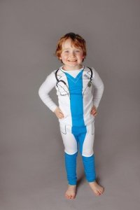Playjamas' doctor jammies