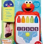 Sesame Street Playskool Steps to School Elmo's Count Along Crayons