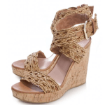 Scoop NYC nude wedges