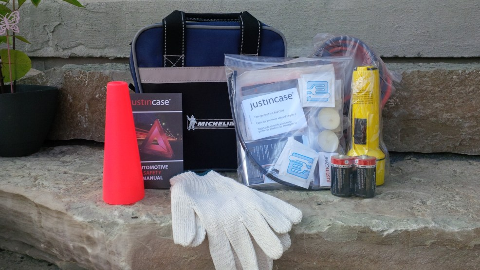 Michelin summer safety road kit
