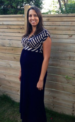 PinkBlush Maternity maternity dress