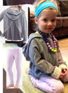 ivviva sweat shirt and dance pants