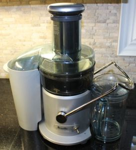 The Juice Fountain Plus by Breville