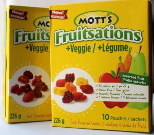 Mott's Fruitsations & veggie fruit snacks