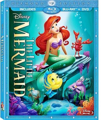 The-Little-Mermaid-Diamond-Edition-Blu-Ray-disc