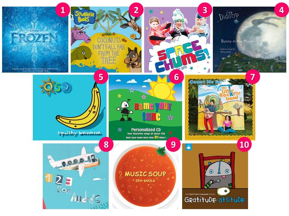 10 best kids' music CDs | Mommy Gearest