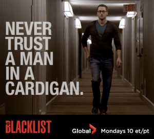 Never trust a man in a cardigan The Blacklist