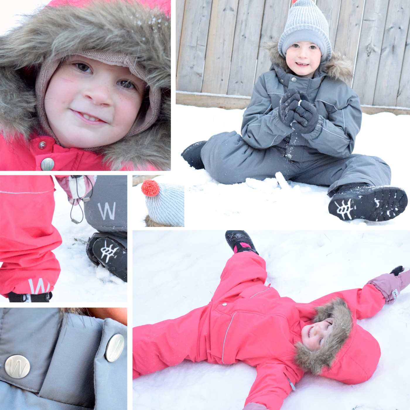 Wheat Canada snow suits