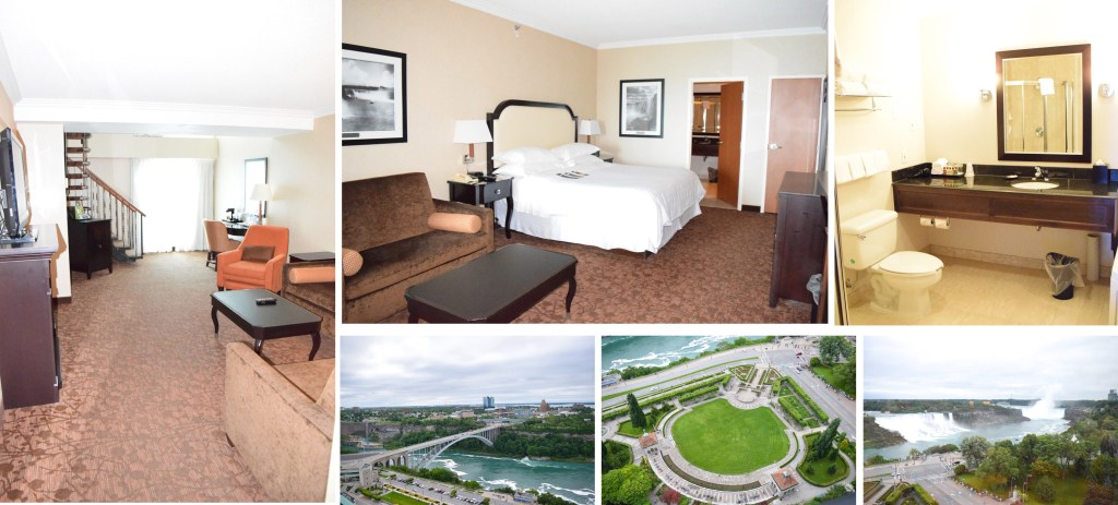 Sheraton Fallsview - two-floor suite