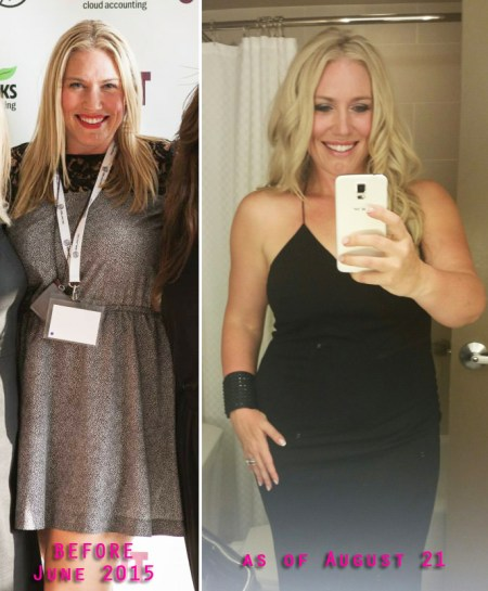Arbonne Clean Eating Challenge - before and after