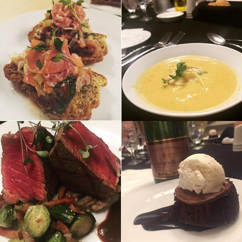 Ste Anne's Spa private chef