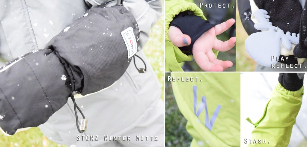 Wheat Canada and STONZ winter wear details