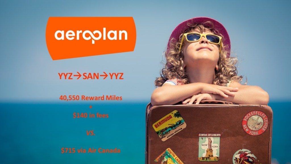 Aeroplan booking tips