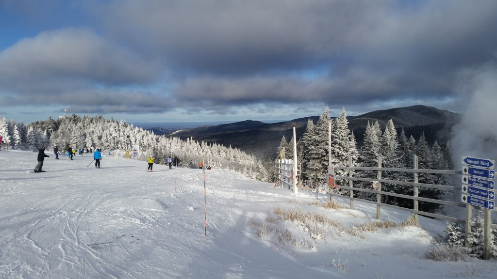 Mont-Tremblant from the summit