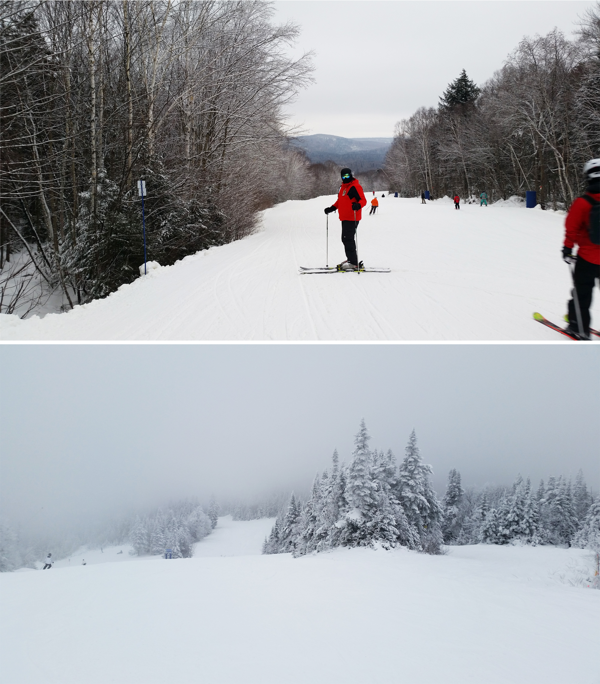 Skiing at Mont Tremblant
