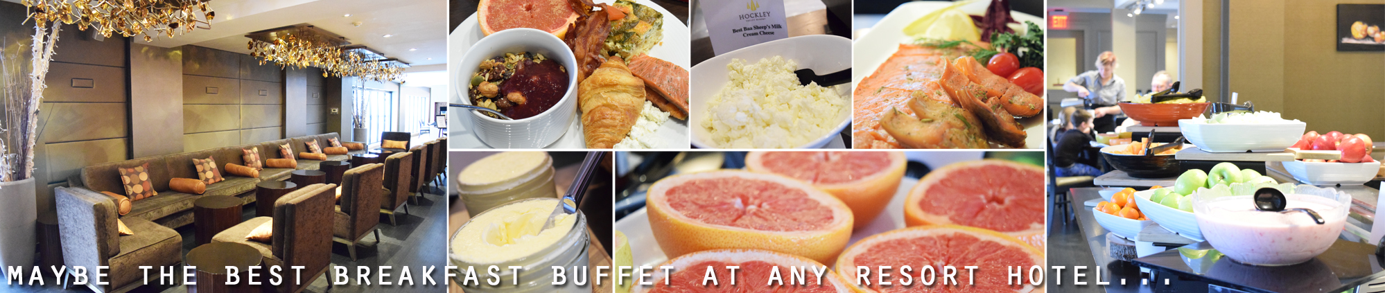 Hockley Valley Resort buffet breakfast