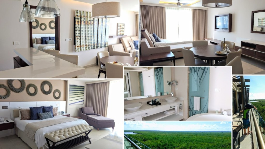What are the rooms like at Royalton Cancun?