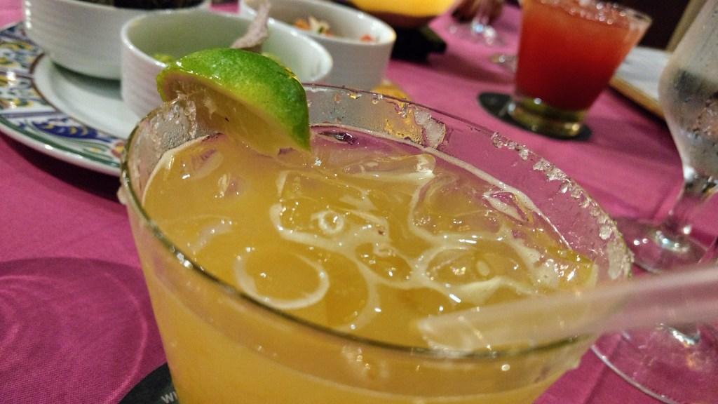 Hard Rock Cancun cocktails