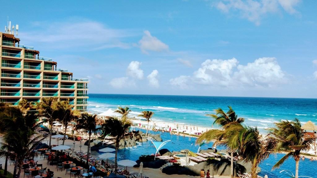 Hard Rock Cancun oceanfront view