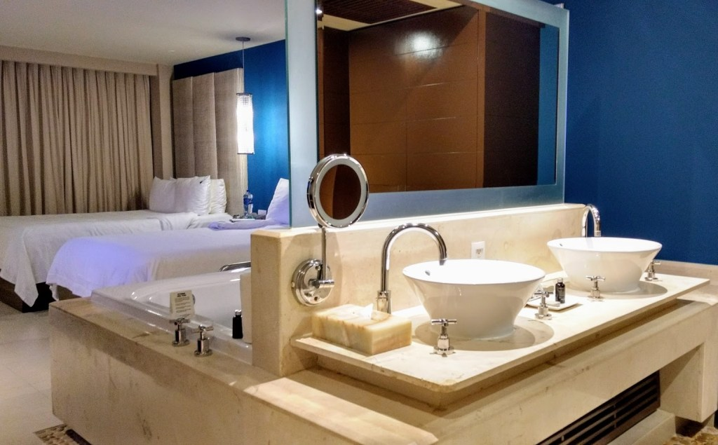 Bedrooms at Hard Rock Hotel Cancun