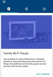 Family WiFi pause with Google Wifi