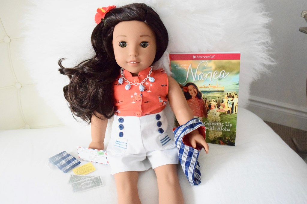 American Girl BeForever doll set, Nanea Mitchell