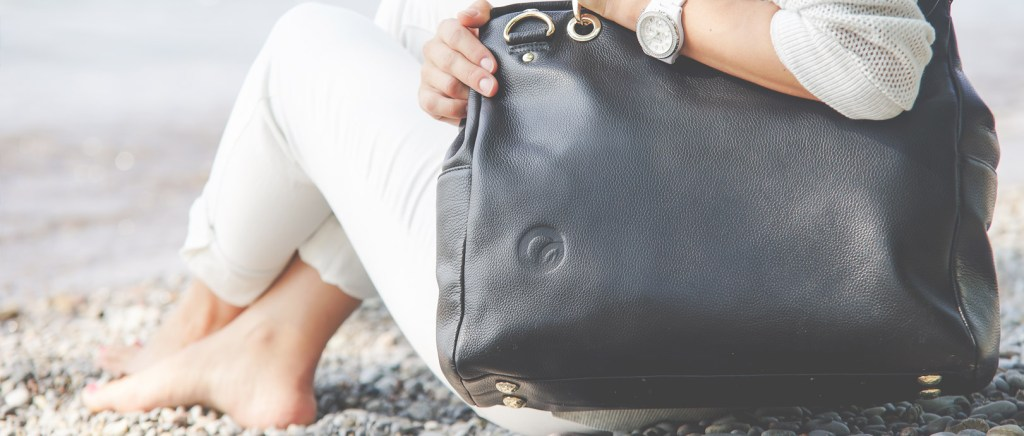 Oemi baby leather diaper bag