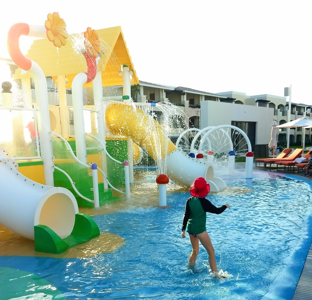 Water park for little kids at The Grand at Moon Palace