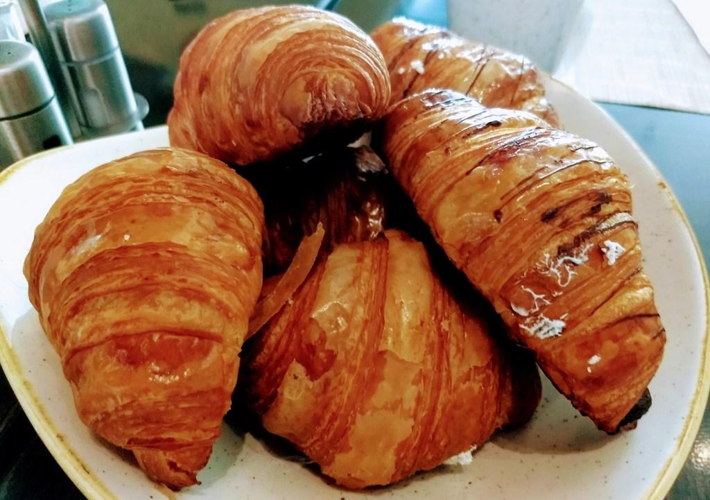 Croissants at The Grand Buffet at The Grand at Moon Palace