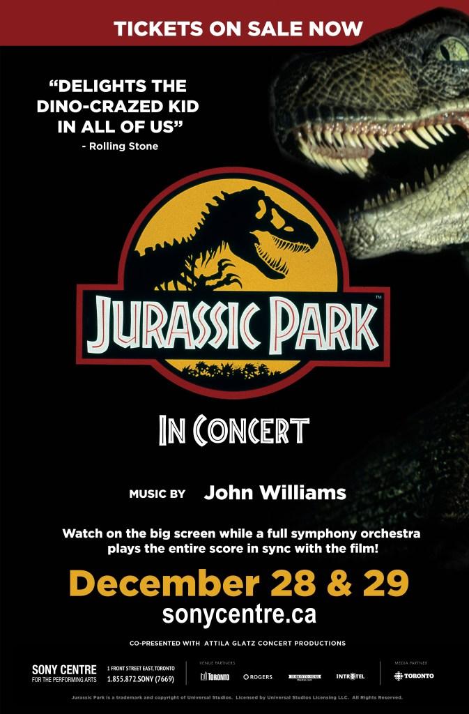 Jurassic Park symphony concert