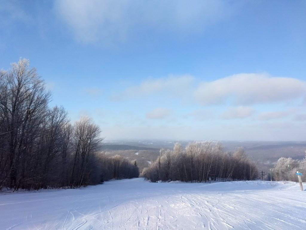 Titus Mountain Family Ski Center skiing