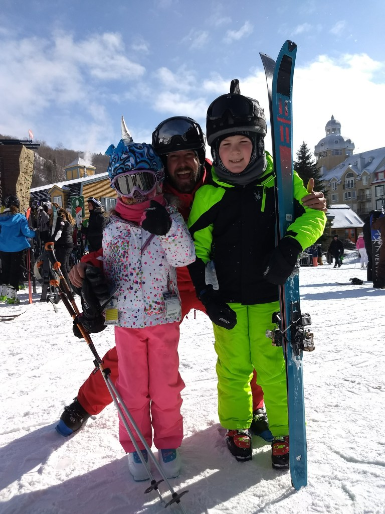 best ski instructors for kids at Tremblant
